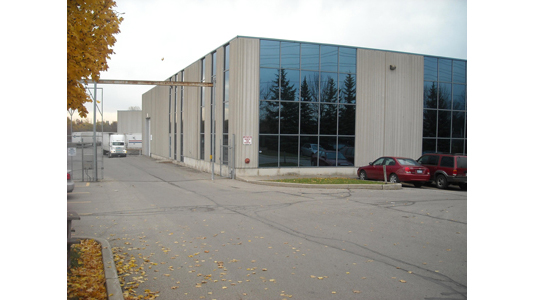 warehouse exterior side view